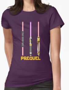 Prequel Womens Fitted T-Shirt