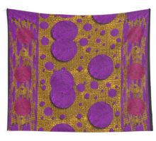 Dots dripping and dropping in a decorative style Wall Tapestry