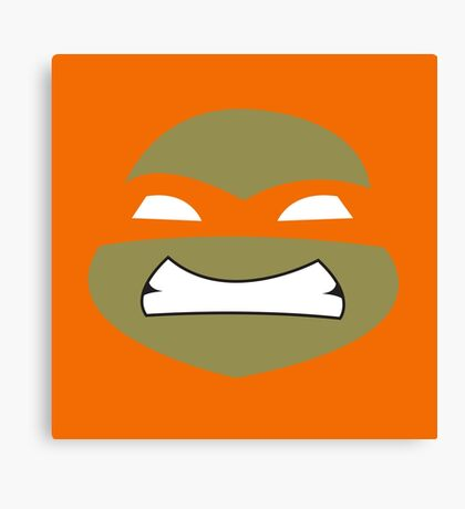Ninja Mikey Turtles Canvas Print