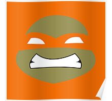 Ninja Mikey Turtles Poster