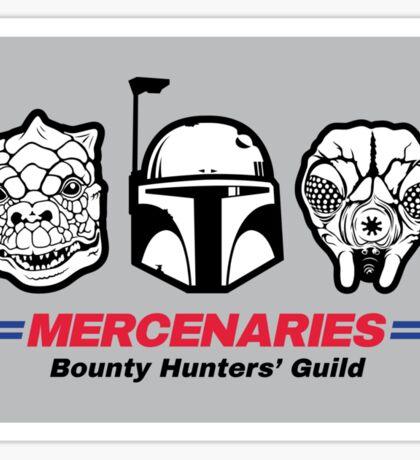 Mercenaries Sticker