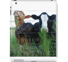 The Three MOOsketeers  iPad Case/Skin