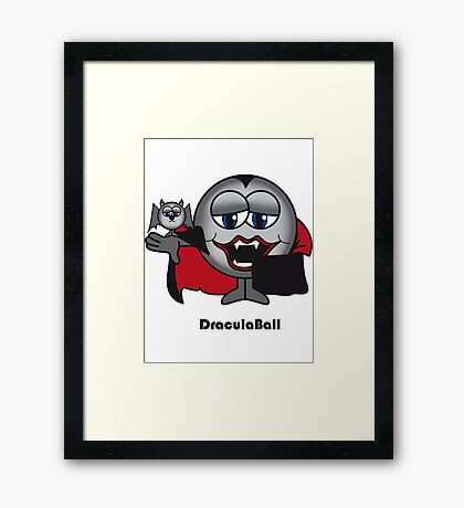 Dracula Ball Framed Print
