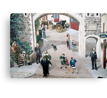 How Many REAL People Are In This Shot? Canvas Print