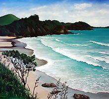 NZ Beachscapes by Lauren Worsley