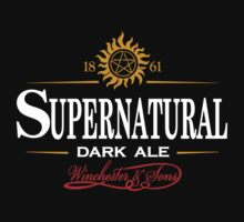 Supernatural Dark Ale by rexraygun