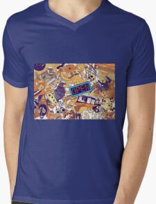Urban Panel Mens V-Neck T-Shirt