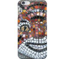 Mosaic Tiger mask iPhone Case/Skin