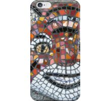 Mosaic Tiger mask iPhone Case/Skin