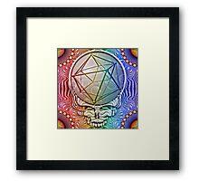 Rainbow Sammich Framed Print