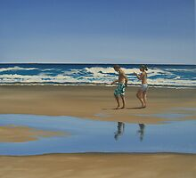 Beachwalkers (2008) by Lauren Worsley
