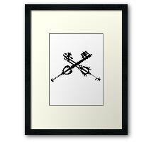 Oathkeeper and Oblivion Framed Print