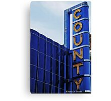 County Theater of Doylestown Canvas Print