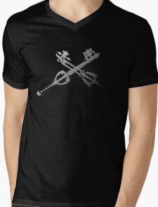 Oathkeeper and Oblivion Black and White Mens V-Neck T-Shirt