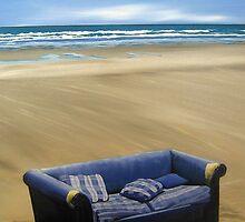 Purple Piha Sofa I (2008) by Lauren Worsley