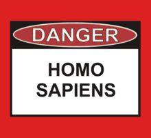 Danger - Homo Sapiens Kids Clothes