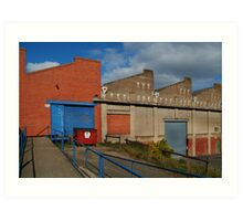 Industrial Building Art Print
