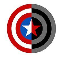 Captain America-Bucky Barnes Logo by sam2mydean