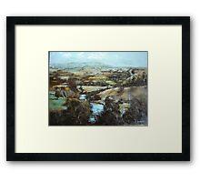 Barrabool Hills Framed Print