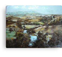 Barrabool Hills Canvas Print