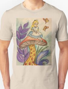 Sitting on a toadstool T-Shirt