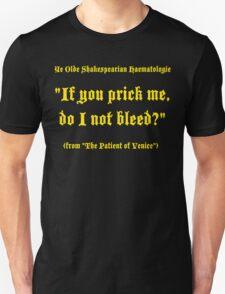 Shakespearian Haematology, Funny T-Shirt
