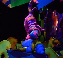 Winnie The Pooh Ride  by Disneyland1901