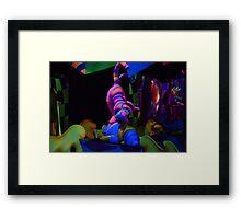 Winnie The Pooh Ride  Framed Print