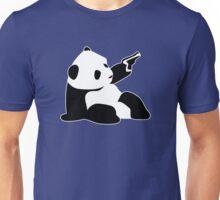 Baby Banksy Panda Gun Unisex T-Shirt