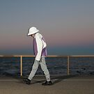 The walker by Mark Llewellynn