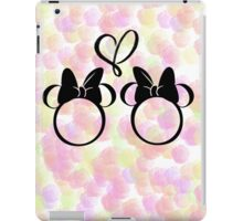 minnie & minnie - roses iPad Case/Skin