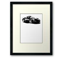 Porsche 911 Turbo S Cabriolet 2011 Framed Print