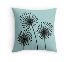 Flower Pattern No. 1 Throw Pillow