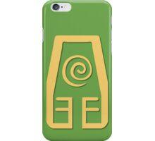 Earth Kingdom Symbol iPhone Case/Skin