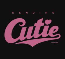 GenuineTee - Cutie (pink) by GerbArt