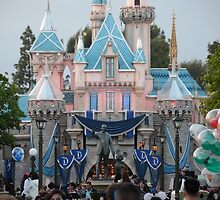 Disneyland 60 castle by Disneyland1901