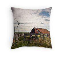 Wind Barn Throw Pillow