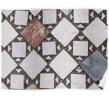 Mosaic Floor, St. John Lateran Poster