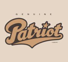 GenuineTee - Patriot (orange/darkgrey) by GerbArt