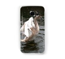 Teenage Swan Samsung Galaxy Case/Skin