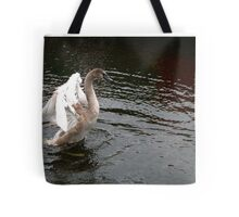 Teenage Swan Tote Bag