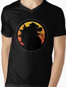Bowser Kombat Mens V-Neck T-Shirt