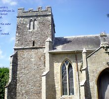 Bell Tower of Lytchett Parish Church by Songwriter