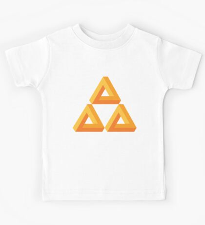 Impossible Triforce  Kids Tee