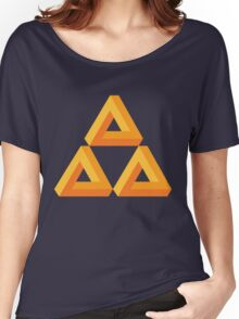 Impossible Triforce  Women's Relaxed Fit T-Shirt
