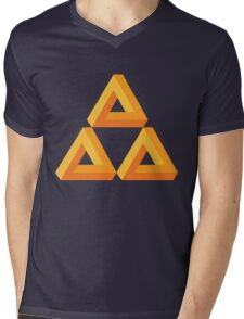 Impossible Triforce  Mens V-Neck T-Shirt