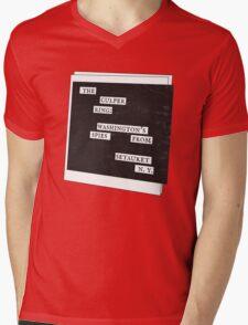 Culper Ring Message Mens V-Neck T-Shirt