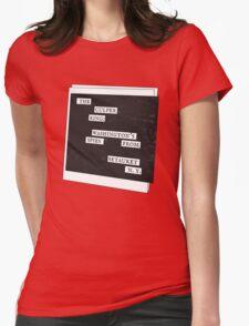 Culper Ring Message Womens Fitted T-Shirt