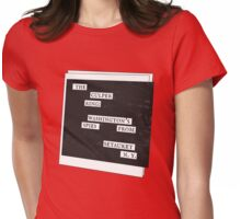 Culper Ring Message Womens Fitted T-Shirt