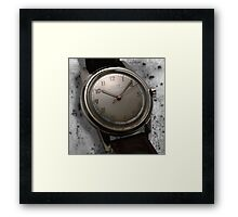 classic time Framed Print
